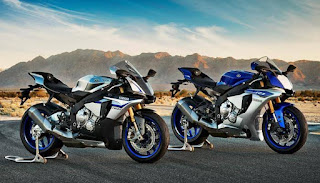 Yamaha YZF-R1 and R1M