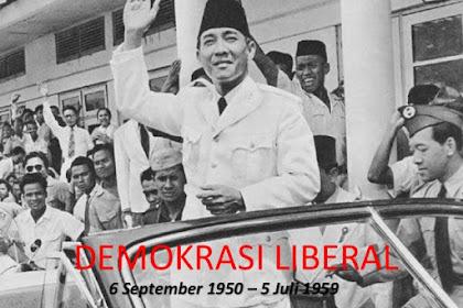 Bab 4 Persatuan dan Kesatuan Bangsa pada masa Demokrasi Liberal  (17 Agustus 1950 s.d. 5 Juli 1959)