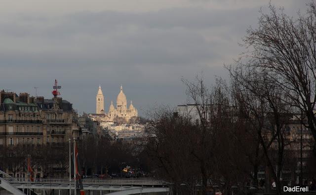 La basilique Notre Dame du Sacré Coeur de Montmartre, Paris