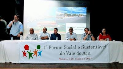 Resultado de imagem para forum sustentável do vale