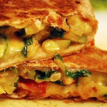 Veggie Cheese Wrap Recipe