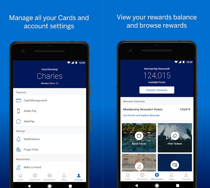 American Express [Amex] App for Android