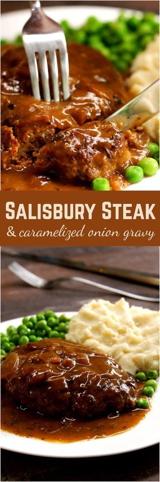 Amazing Salisbury Steak Recipe #salisbury #steak #steakrecipes #dinnerideas #dinnerrecipes #easydinnerrecipes