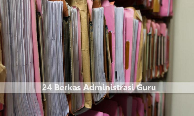 Download Gratis 24 Berkas Administrasi Guru Terangkum Dalam 1 File Microsoft Excel