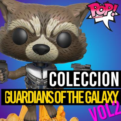 Lista de figuras funko pop de Funko POP Guardianes de la galaxia 2