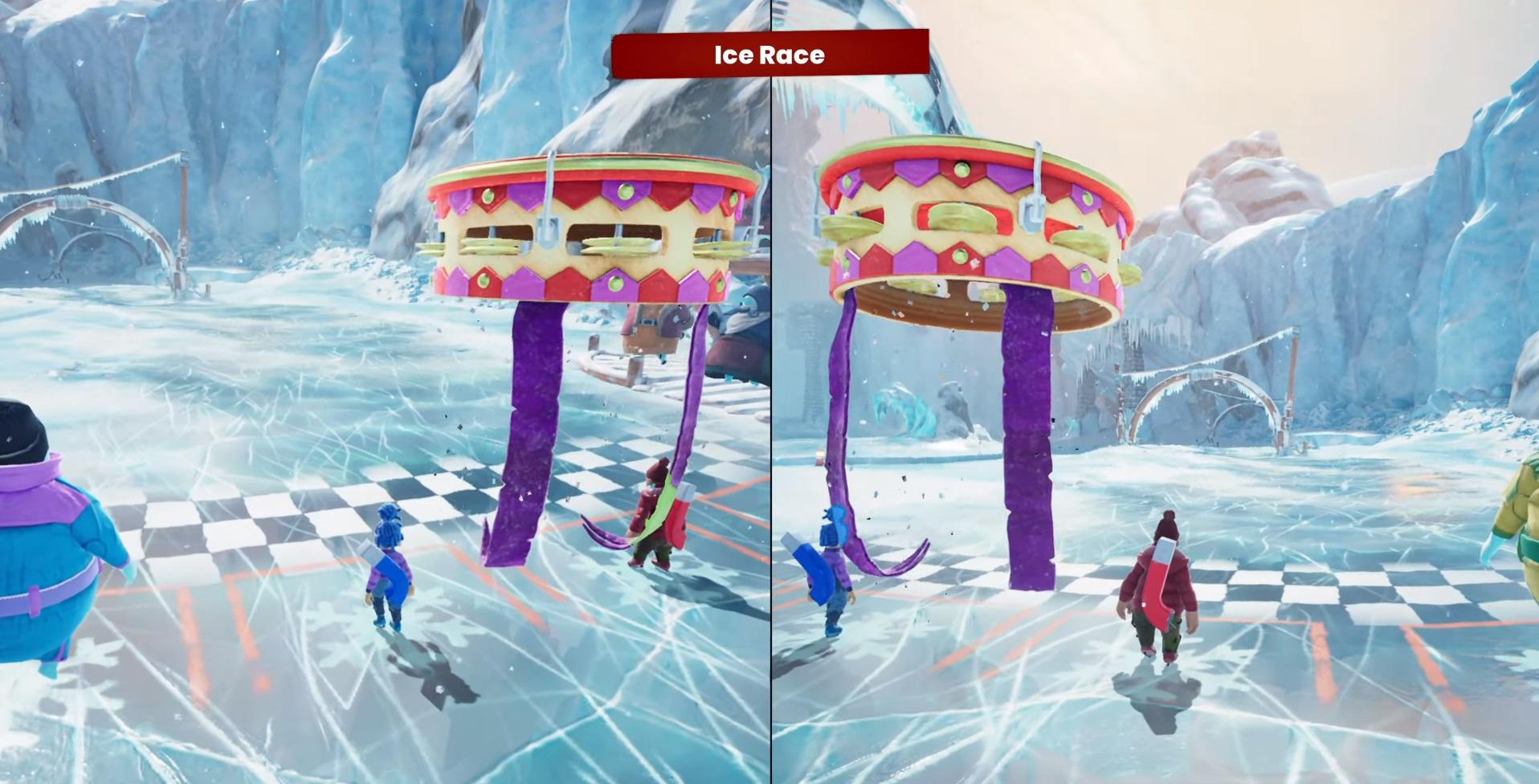 "Mini-game №17 ""Race on ice"""