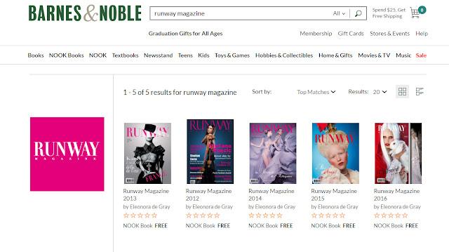 Runway-Magazine-digital-issue-barnes-and-noble