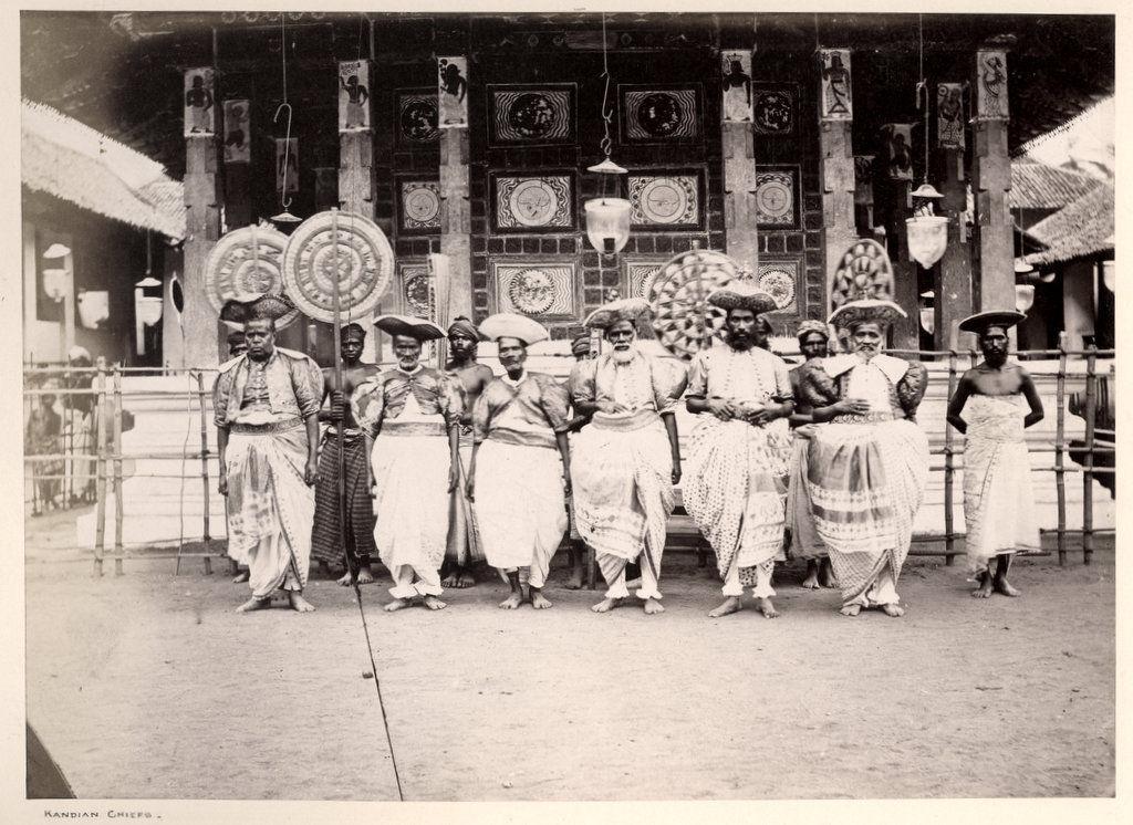 Kandy Chiefs - Ceylon (Sri Lanka) c1870's