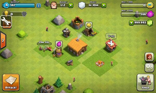 how to put clash of clans on android wear