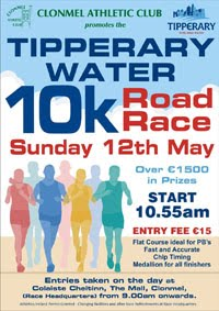 10k in Clonmel - Sun 12th May 2019