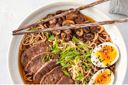 beef ramen - low carb, keto, gluten free