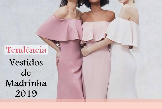 Tendência: Vestidos de Madrinha 2019