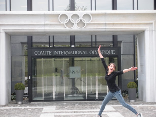 International Olympic Committee headquarters in Lausanne, Switzerland