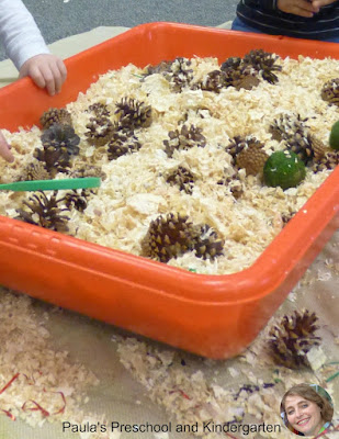 Holiday sensory bin ideas from Paula's Preschool and Kindergarten