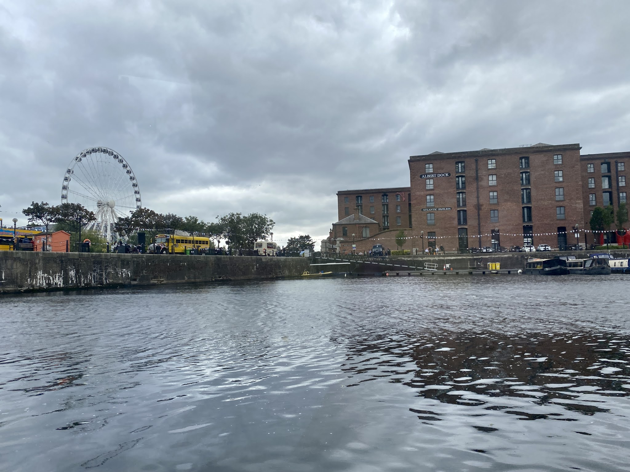 views from the salthouse quay