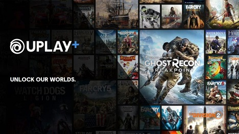 Uplay Plus service is available on PC for $15 / Mo