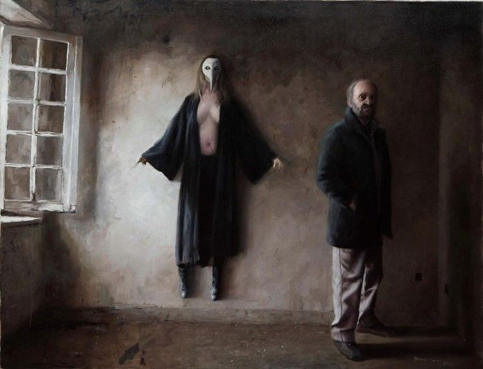 Испанский художник. Boris Correa