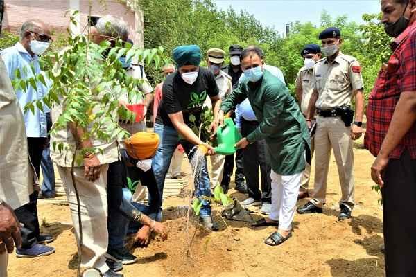 op-singh-cp-faridabad-plantation-sector-31-police-thana