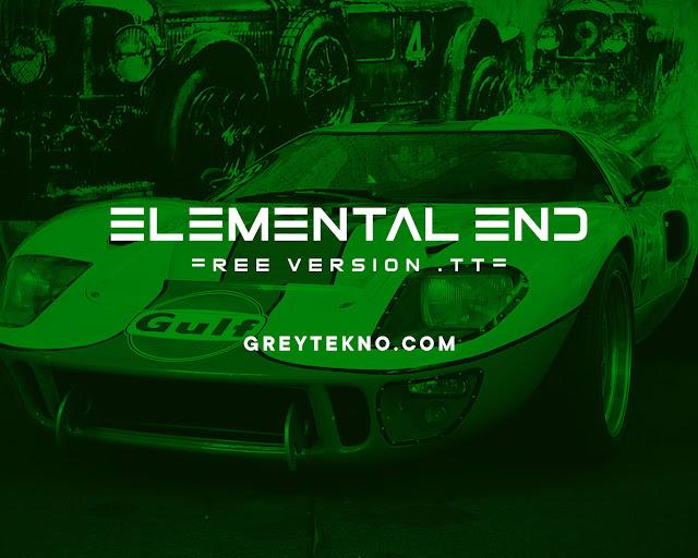Download Font Elemental End Gratis
