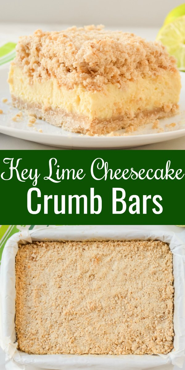 Key Lime Cheesecake Bars are a perfect dessert recipe for picnics, potlucks and gatherings from Serena Bakes Simply From Scratch.