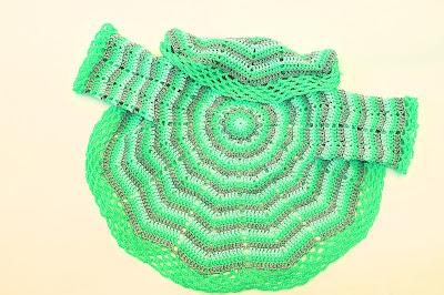 6-Imagen abrigo redondo a crochet y ganchillo. Majovel Crochet