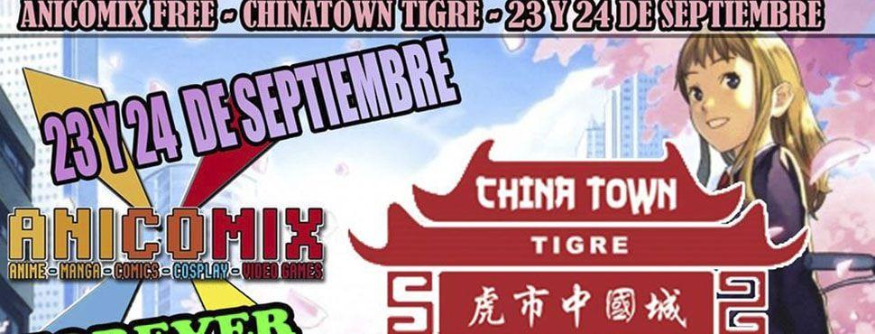 Anicomix Chinatown Tigre Septiembre 2017