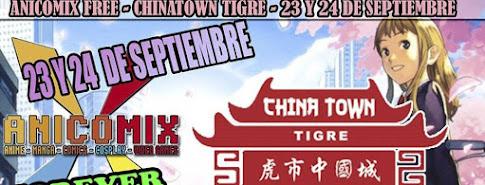 Anicomix Chinatown Tigre Septiembre 2017!!!