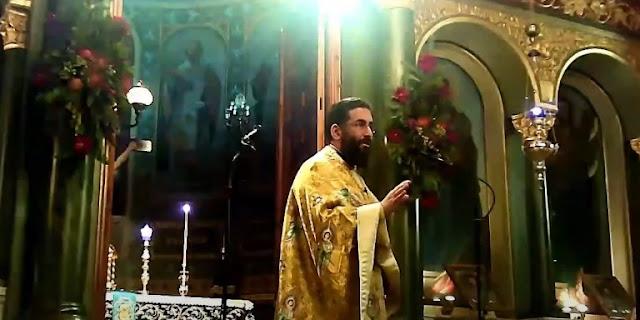 Ιερέας στην Καλαμάτα έστειλε τους αντιρρησίες στα... σπίτια τους (βίντεο)