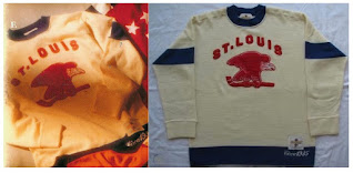 NHL CCM Heritage Jersey Collection - St. Louis Eagles circa 1935
