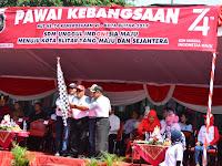 "Dandim 0808/Blitar Hadiri Pawai Budaya ""SDM Unggul Indonesia Maju"""
