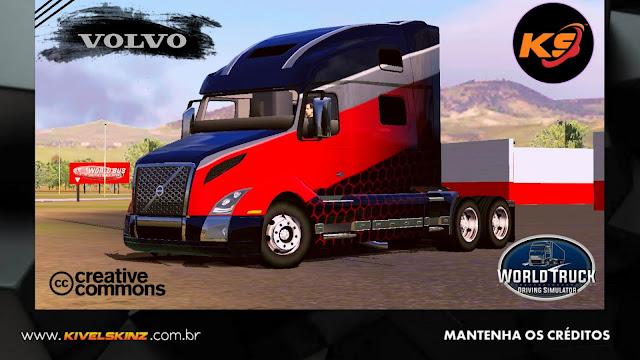 VOLVO VNL 860 - BLACK RED