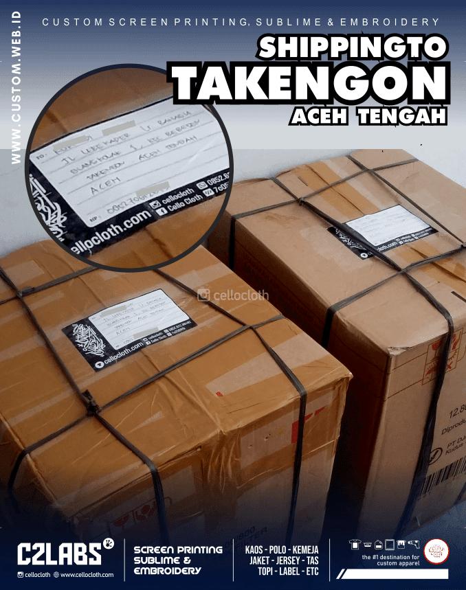 Kirim Paket Ke Takengon Aceh Tengah - Celloshipcc C2 Labs Jogja
