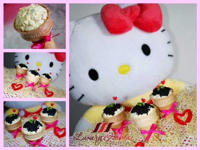 hello kitty valentines day caviar ice cream recipe