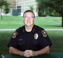 Police Chief Larry Zacharias, Univerity of Texas - Dallas.
