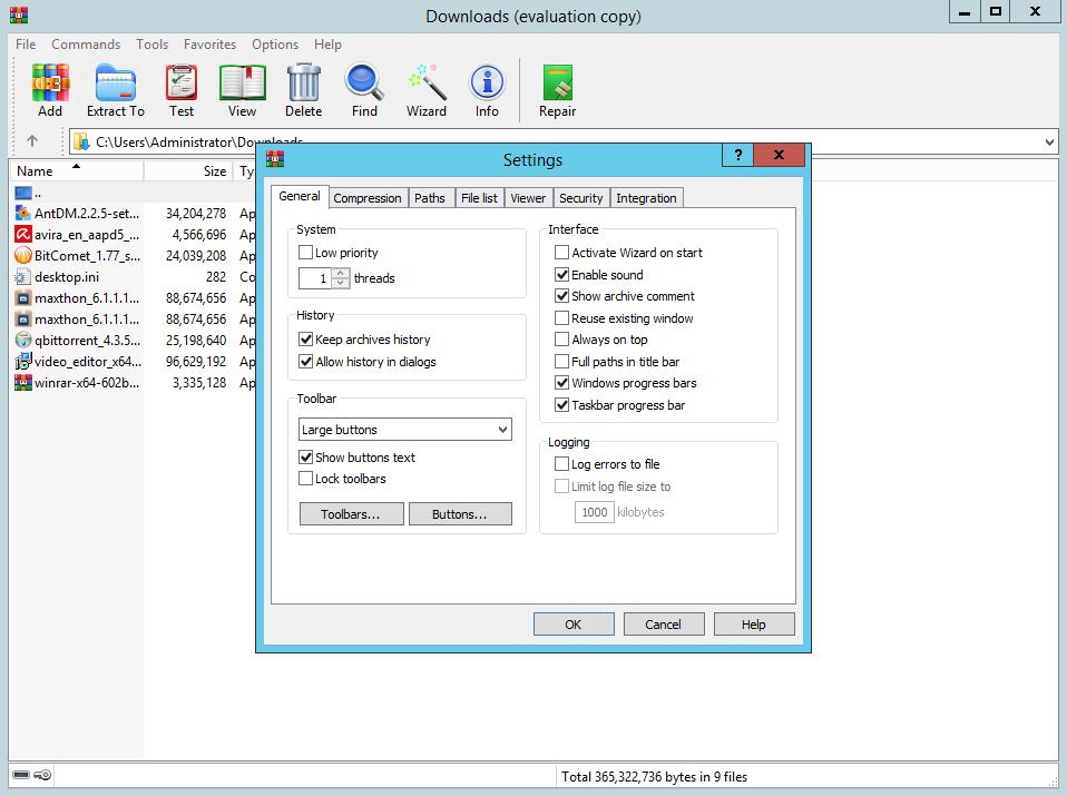 WinRAR 6.02 Beta 1