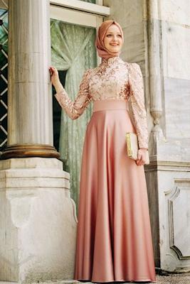 Baju Dress Muslim Terbaru