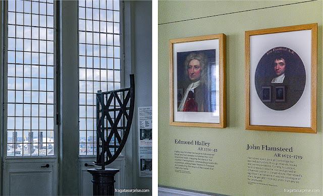 Exposição no Salão Octogonal do Real Observatório de Greenwich, Londres