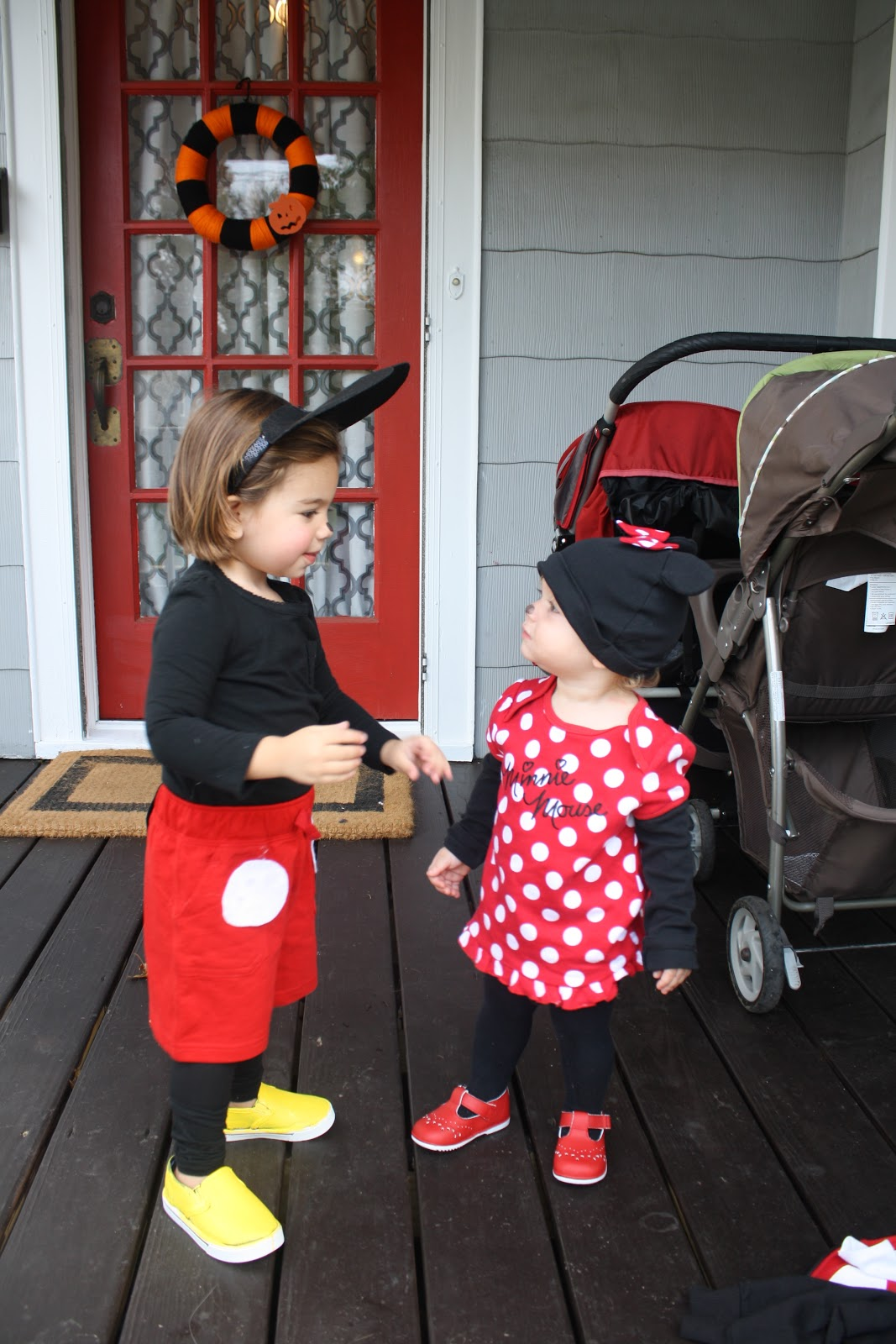 sc 1 st  The Chirping Moms & DIY Halloween Costume: Mickey Mouse - The Chirping Moms