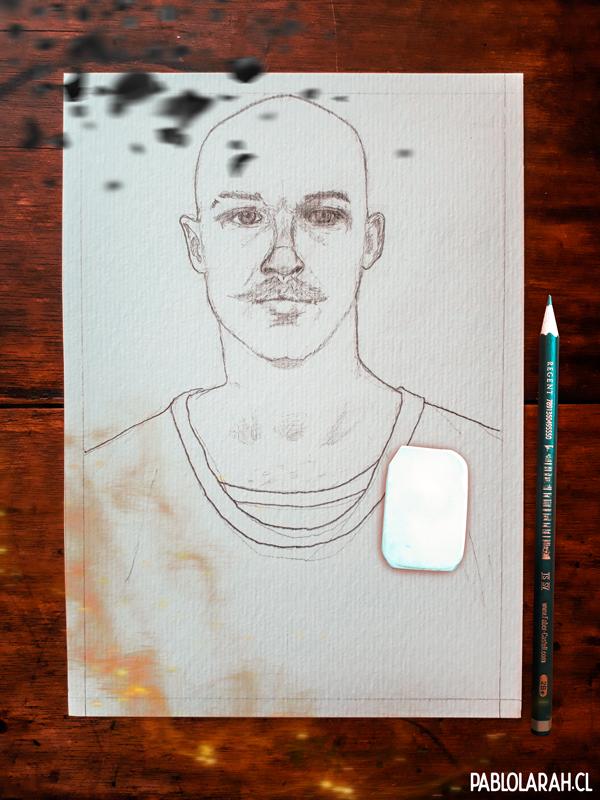 Pablo Lara H, Bronson, Illustration, Nicolas Winding Refn