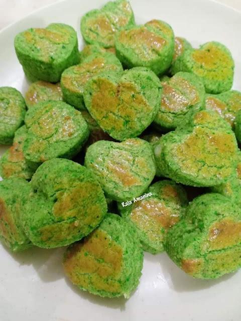 Biskut Green Peas
