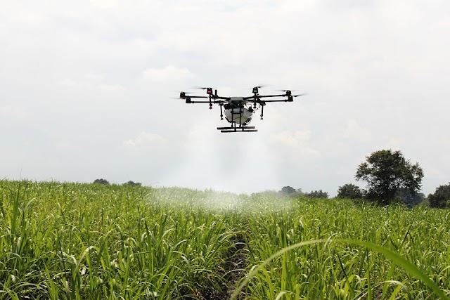 Η χρήση των drones στη σύγχρονη γεωργία