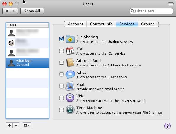 mac os x server group address book