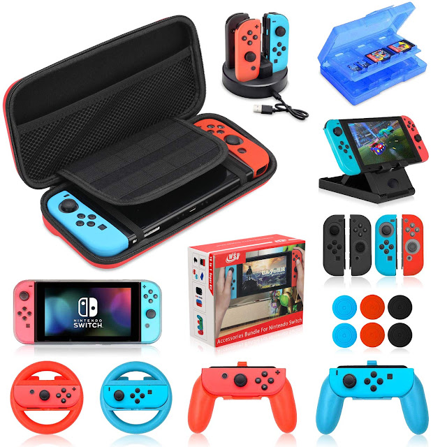 GAME ACC The Best Nintendo Switch Accessories