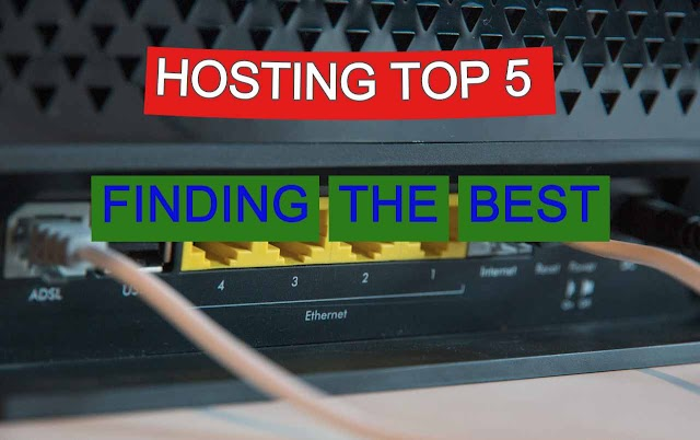 Hosting Top 5 Rated Services - Finding the Best