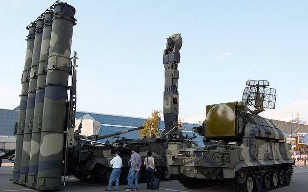 Gambar teknologi sistem rudal pertahanan canggih S-300
