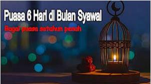 6 Macam Keistimewaan Amalan Sunnah Di Bulan Syawal.