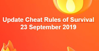 Link Download File Cheats Rules of Survival 23 September 2019