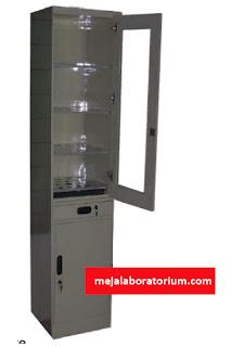 lemari laboratorium