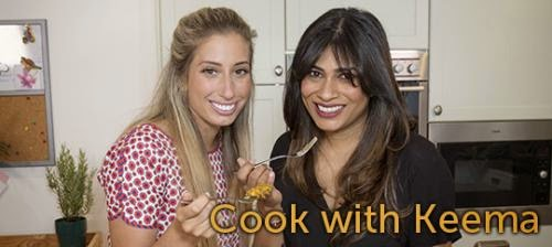 , Stacey Solomon Gets Cooking with Keema