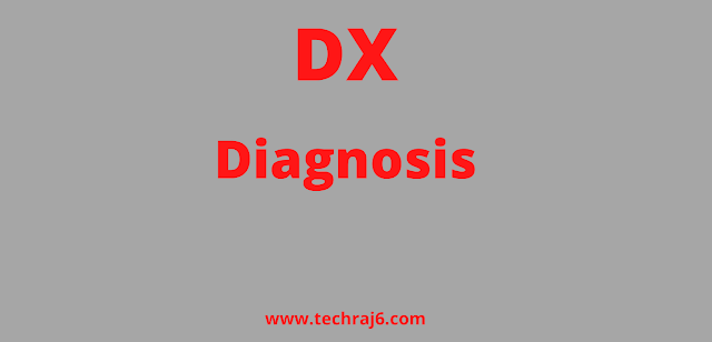 DX full form, What is the full form of DX